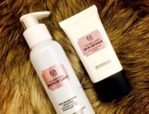 The Body shop – Drops of light!